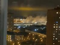 Дым из больницы