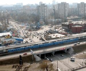 В Киеве между станциями метро