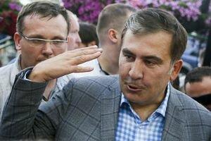Киберхулиганы опубликовали фото Саакашвили на портале президента Грузии