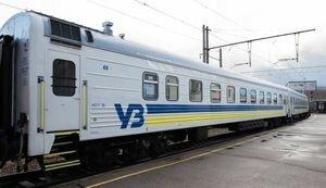 В поезде Укрзализныци на женщину рухнула полка с пассажиром: видео