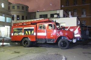 В киевской клинической больнице произошел пожар
