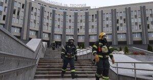 В России произошел смертельный пожар в больнице с зараженными COVID-19: видео