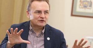 Мэр Львова в своем кабинете обнаружил необычного гостя