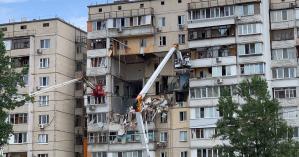 Киевские власти выделили 15 млн грн на снос взорвавшегося дома на Позняках