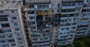 Содрогнулось все на сотни метров: появился момент взрыва дома на киевских Позняках