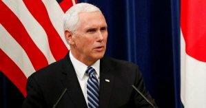 Кортеж, сопровождающий американского вице-президента, столкнулся с самосвалом