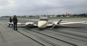 Во Львове закрыли аэропорт из-за аварии частного самолета