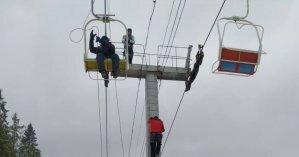 Возле горнолыжного курорта в Карпатах люди застряли на высоте: на помощь пришли спасатели