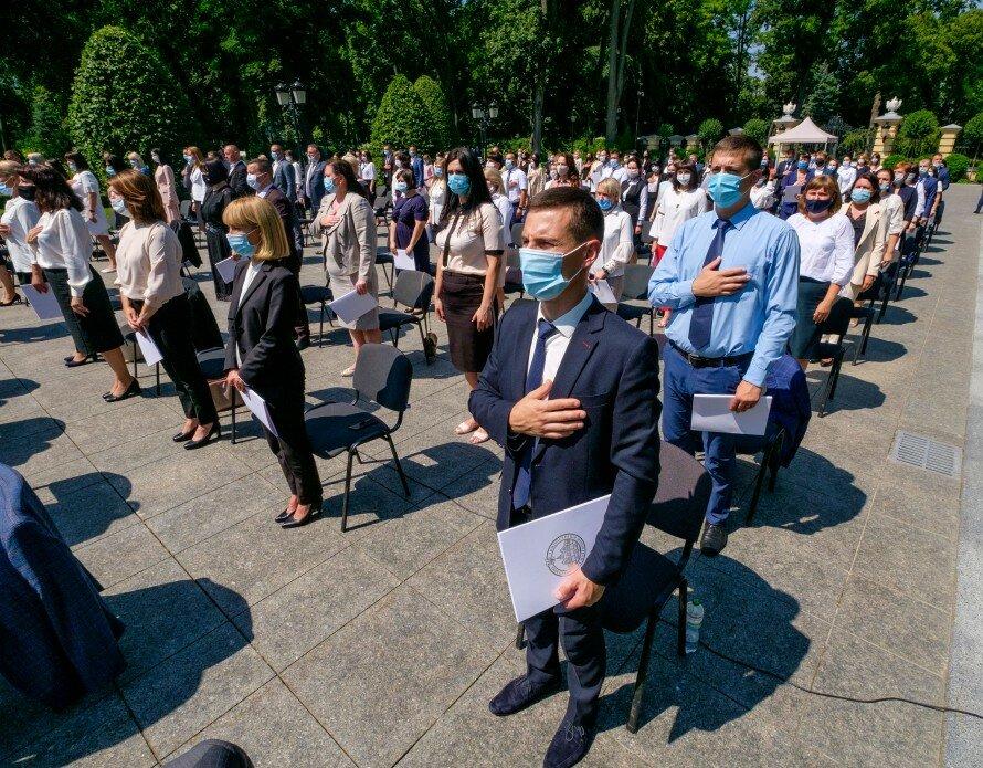 Церемония присяги