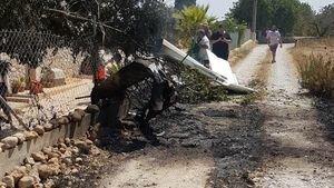 Над островом в Средиземном море произошла авиакатастрофа: фото