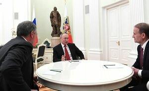 Путин: Думаю, что Меркель и Макрон поддержат парламентское измерение